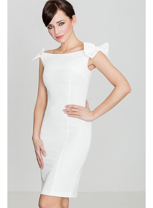 Dress K028 Ecru