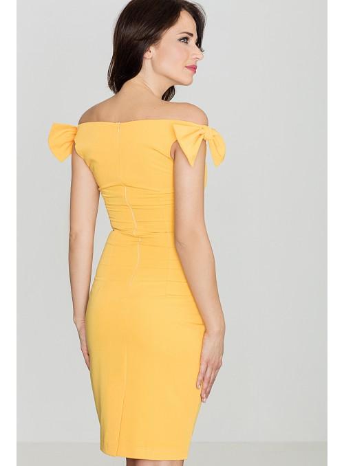 Dress K028 Yellow