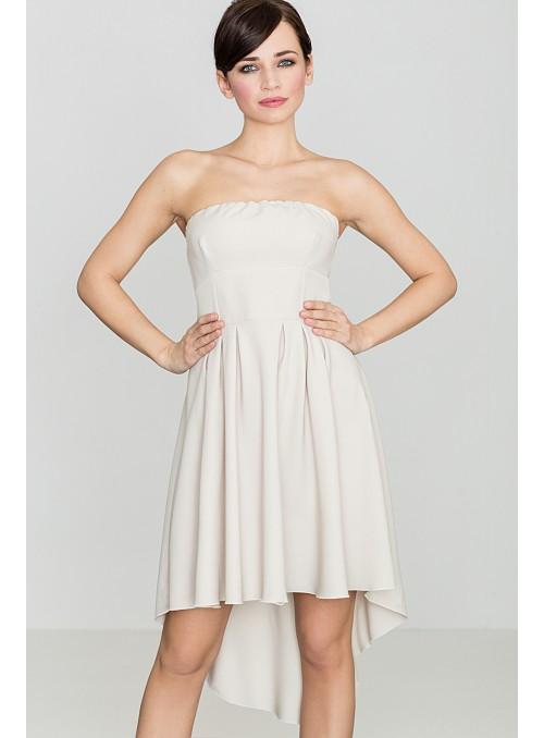 Dress K031 Beige