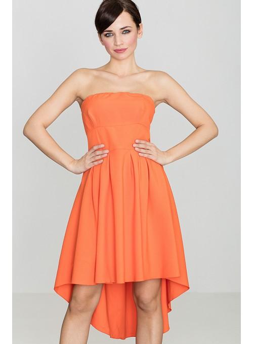 Dress K031 Orange