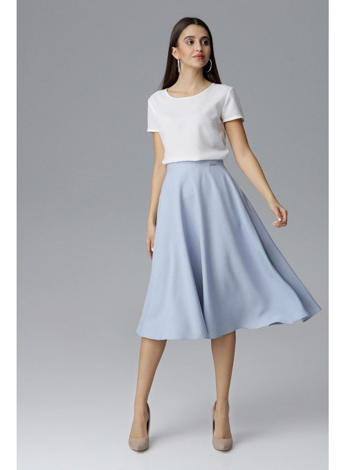 Skirt M628 Light Blue