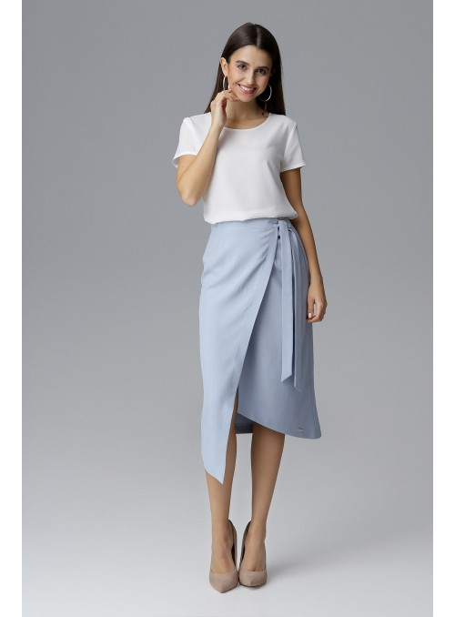 Skirt M629 Light Blue