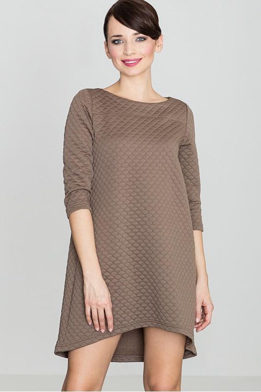 Dress K134 Beige
