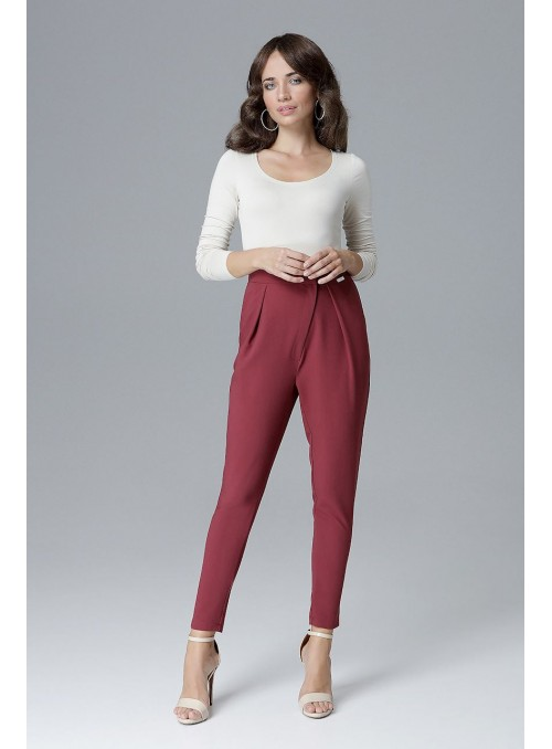 Pants L018 Deep red