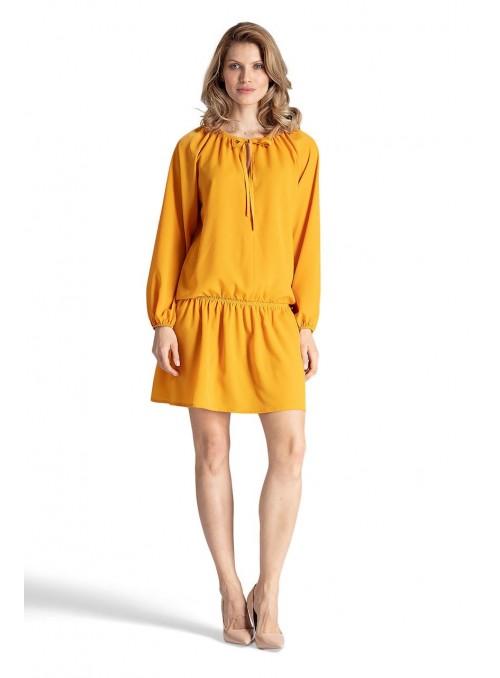 Dress M661 Mustard