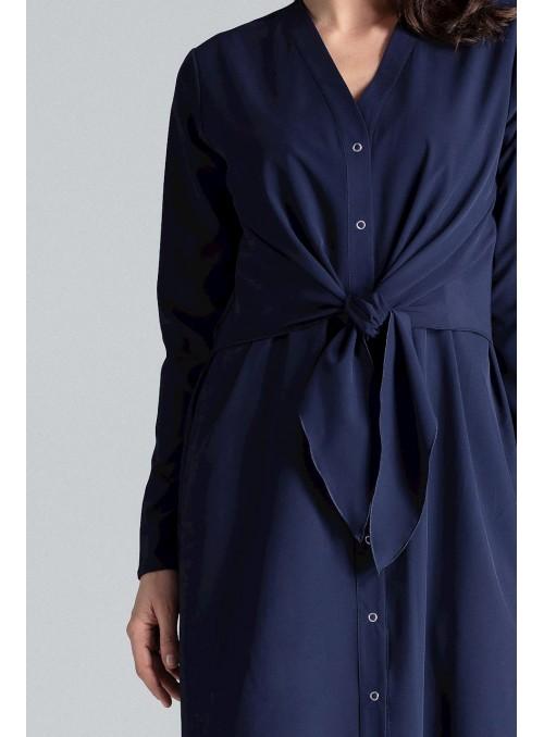 Dress L031 Navy