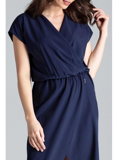 Dress L033 Navy