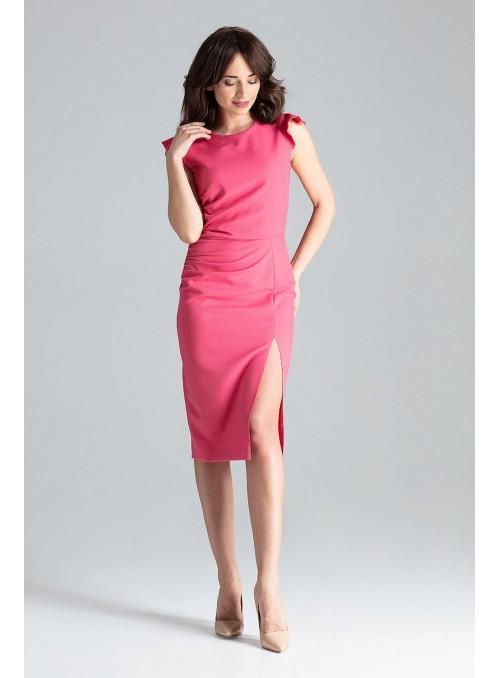 Dress L034 Coral