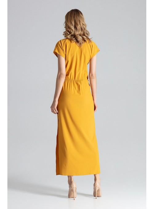 Dress M668 Mustard