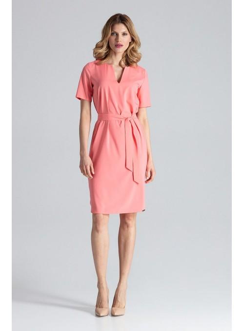Dress M669 Coral
