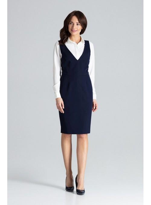 Dress L039 Navy