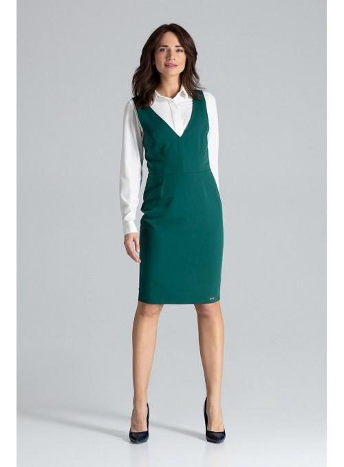 Dress L039 Green