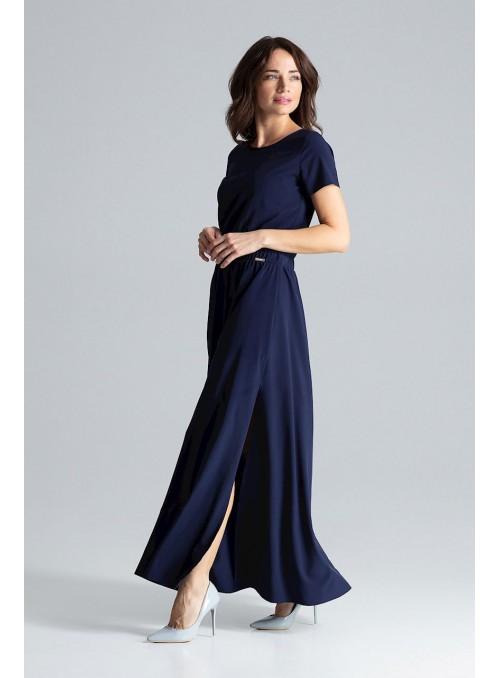 Dress L042 Navy