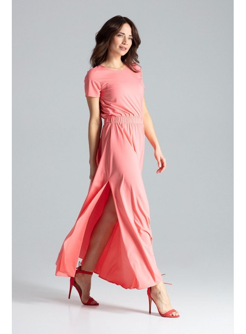 Dress L042 Coral