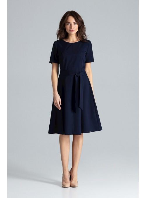 Dress L043 Navy