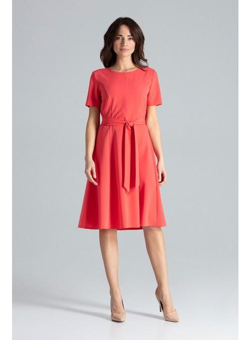 Dress L043 Coral