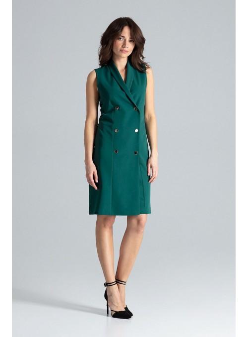 Dress L044 Green