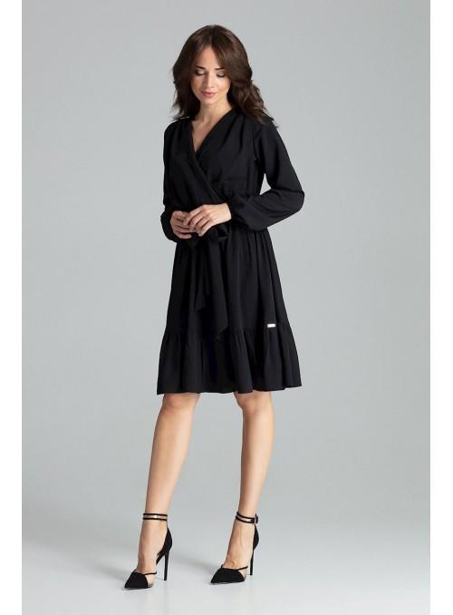 Dress L053 Black
