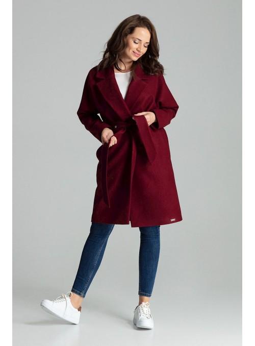 Coat L054 Deep Red