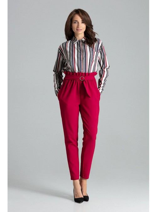 Pants L056 Deep Red