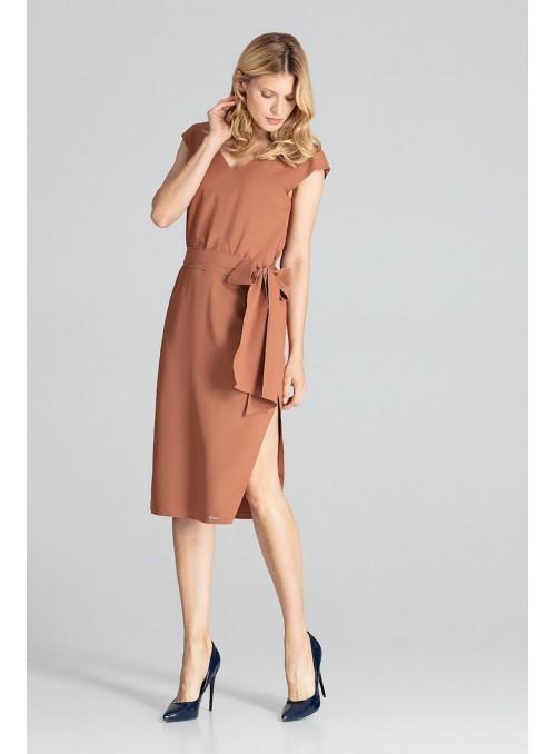 Dress M674 Brown
