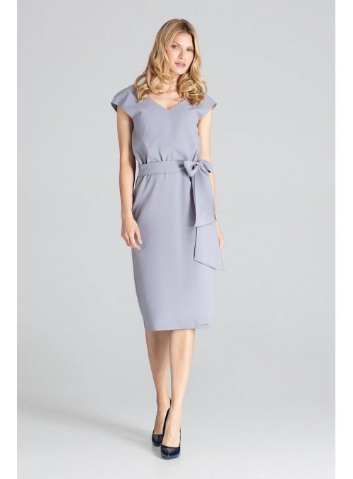 Dress M674 Gray