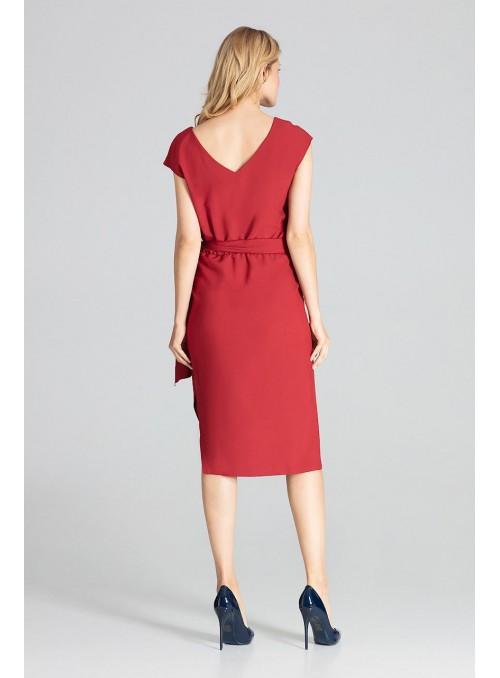 Dress M674 Deep Red