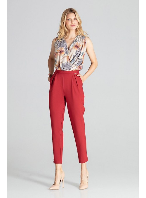 Pants M676 Deep Red