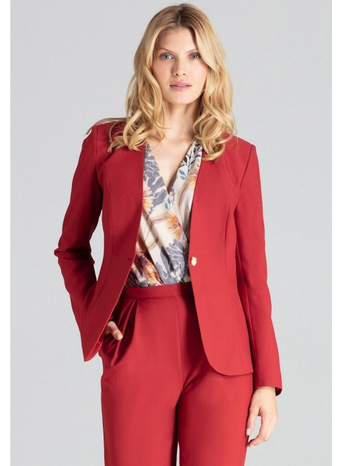 Jacket M678 Deep Red