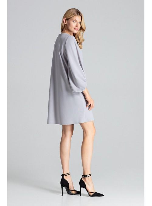 Dress M693 Grey
