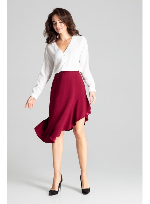 Skirt L065 Deep Red