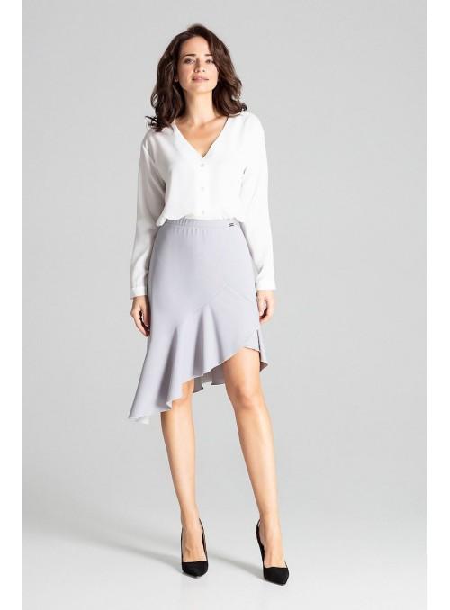 Skirt L065 Grey