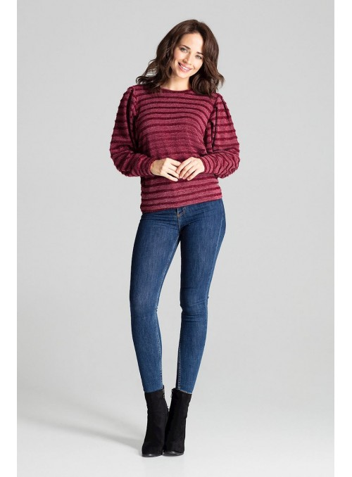 Blouse L069 Deep Red