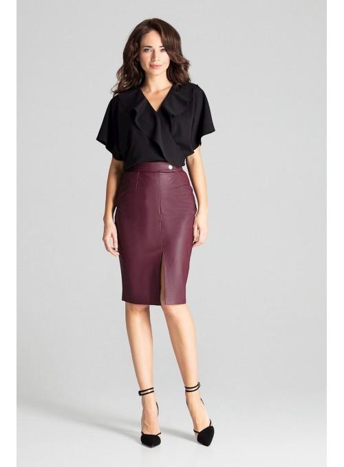 Skirt L071 Deep Red