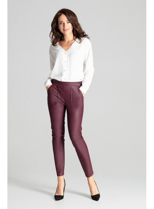 Pants L072 Deep Red