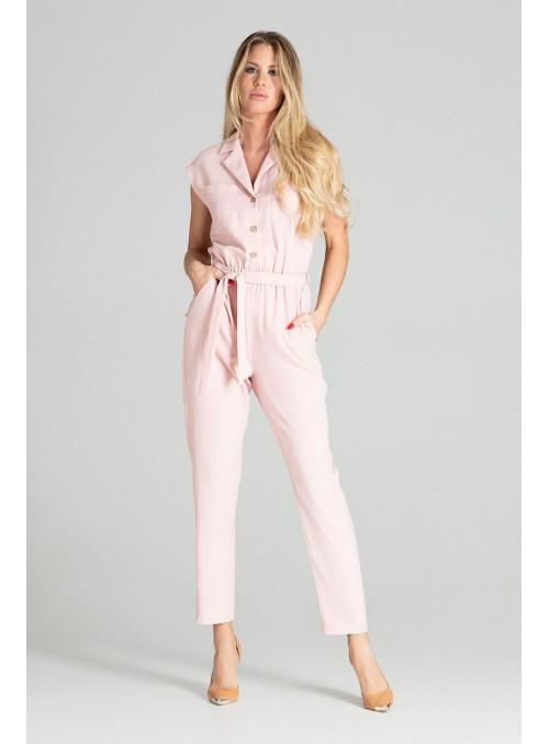 Jumpsuit M695 Pink