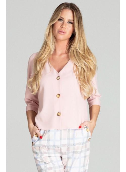 Blouse M699 Pink