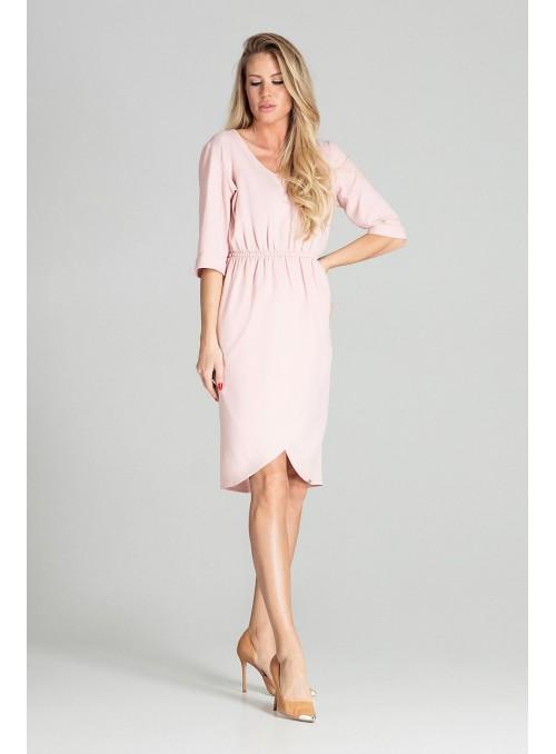 Dress M702 Pink