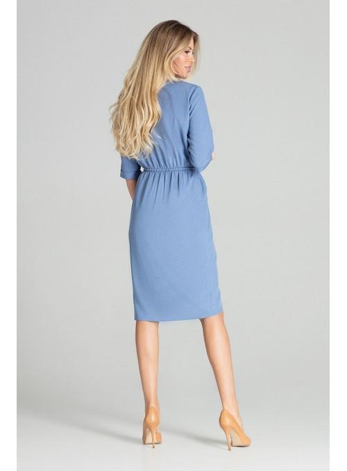 Dress M702 Blue