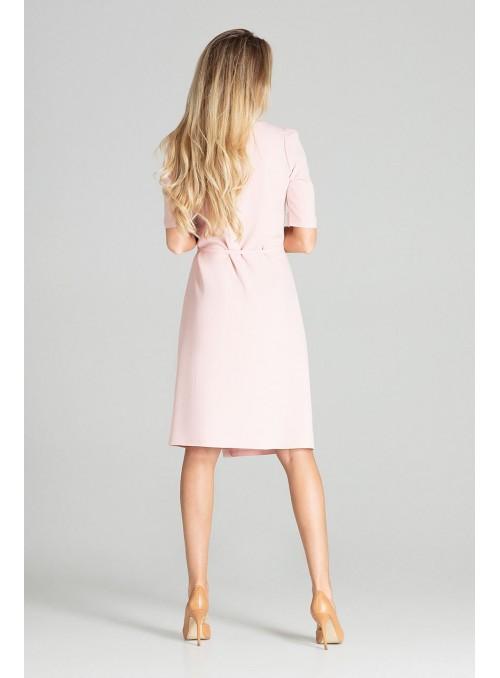Dress M703 Pink