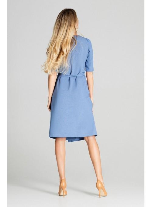 Dress M703 Blue