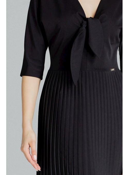Dress L076 Black