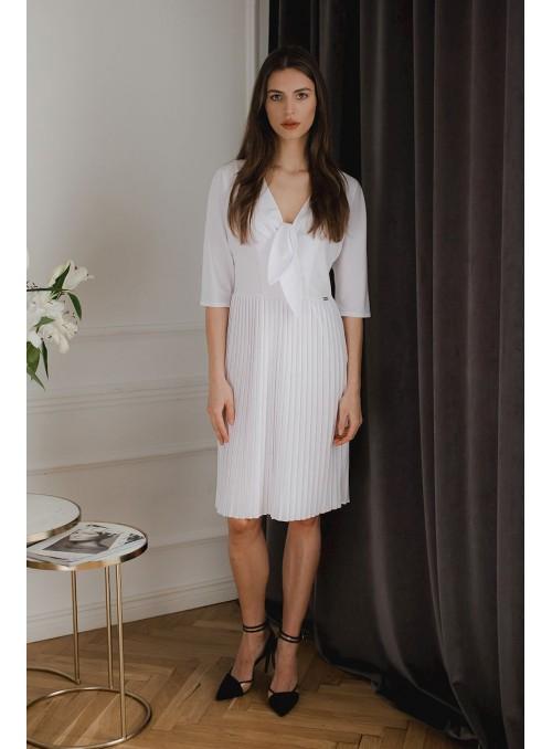Dress L076 White