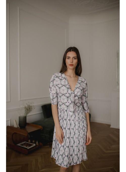 Dress L076 Pattern 113