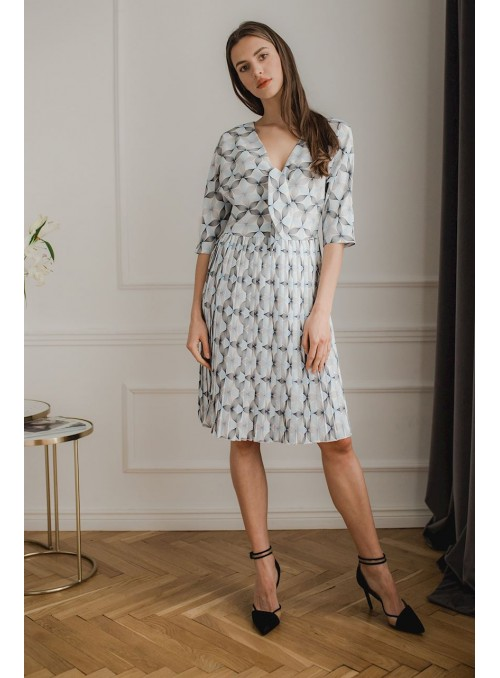 Dress L076 Pattern 114