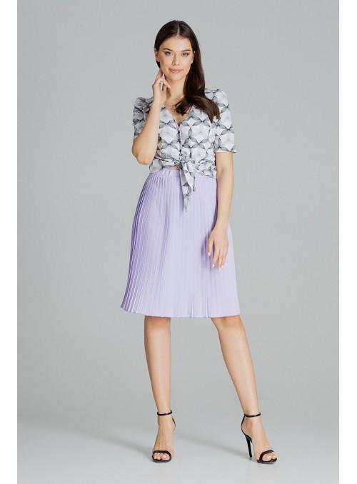 Skirt L078 Violet