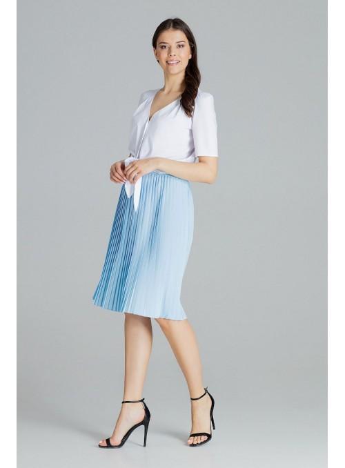 Skirt L078 Blue