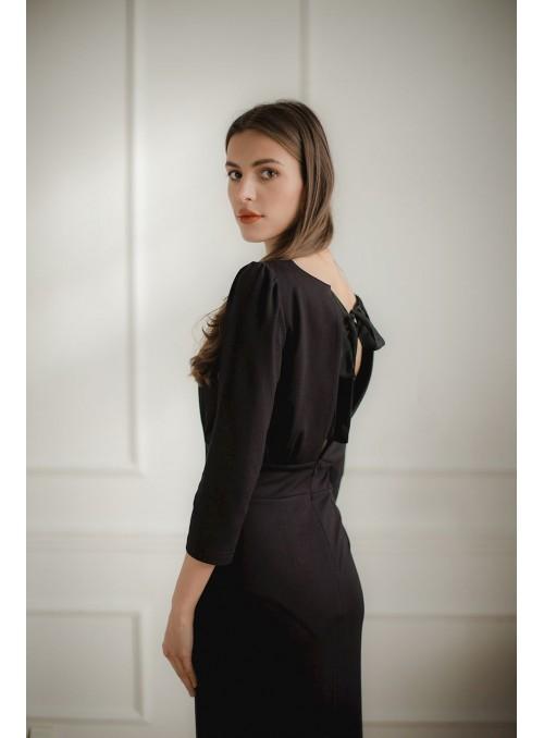 Dress L079 Black