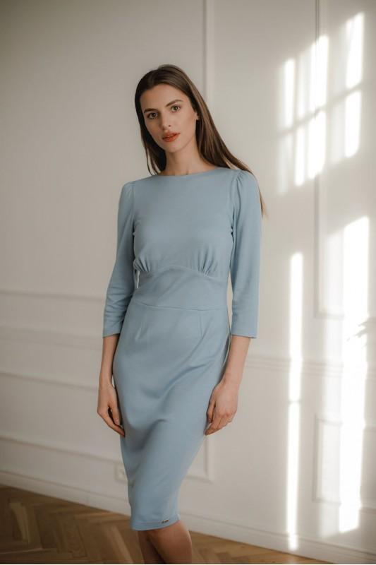 Dress L079 Blue
