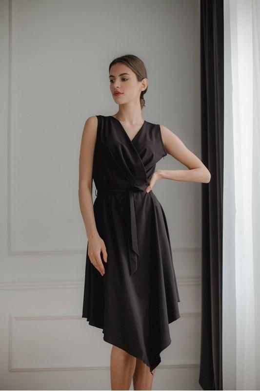 Dress L080 Black
